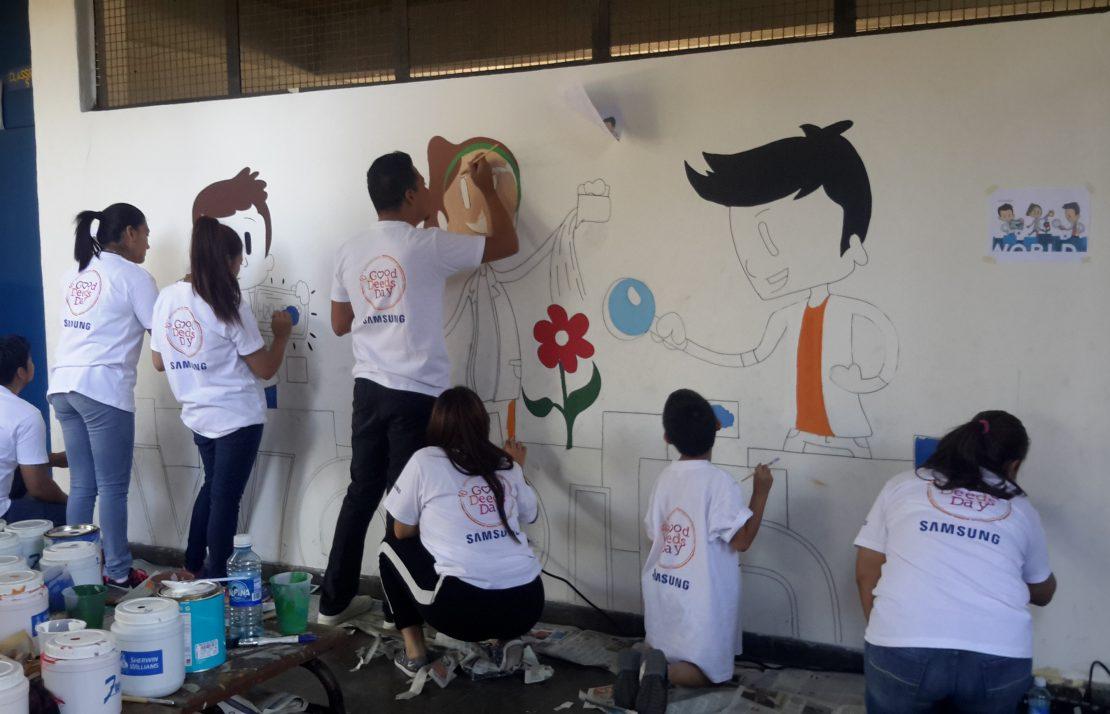 Pinta un Mural Internacional 14