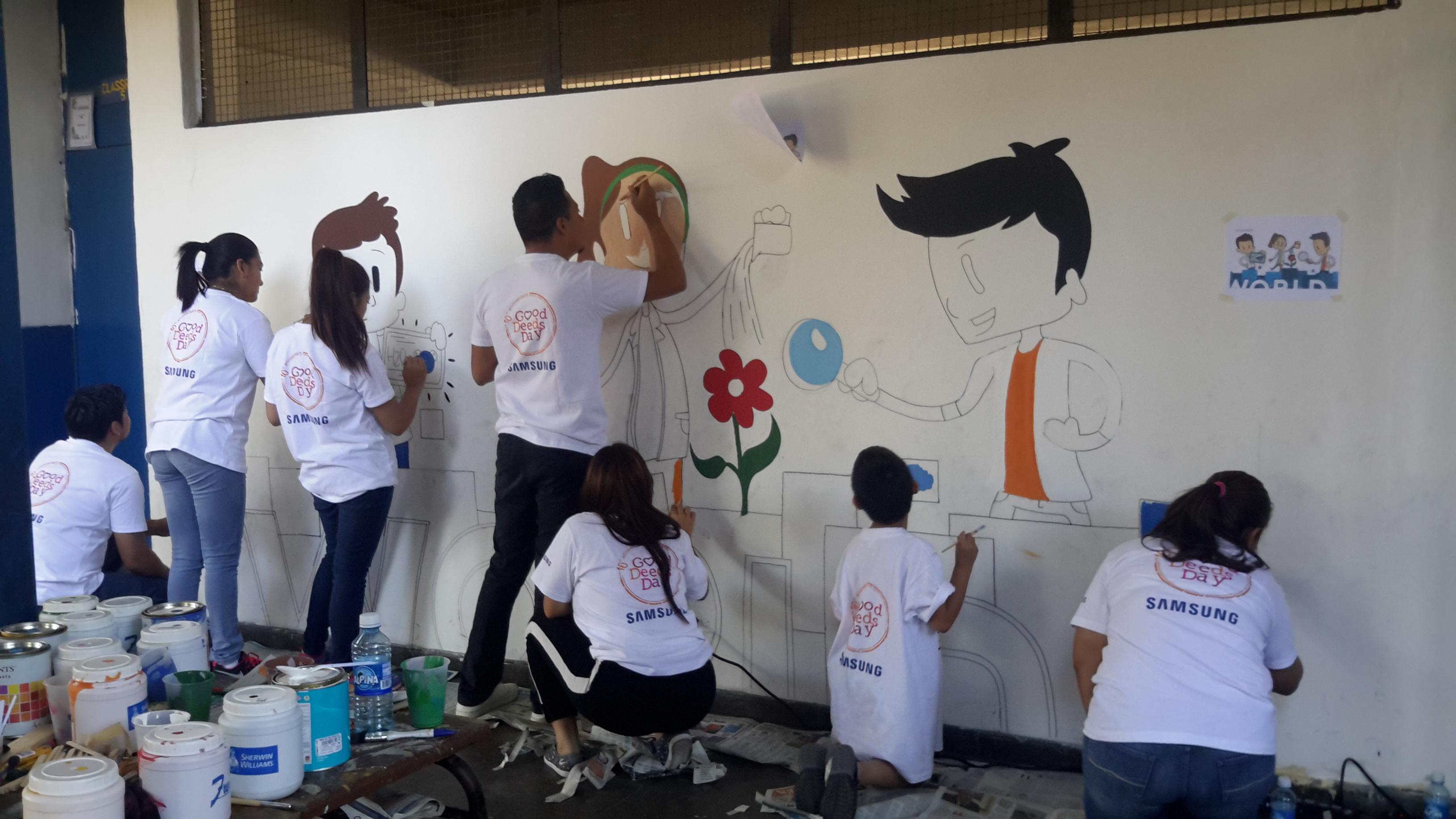 Pinta un Mural Internacional 53