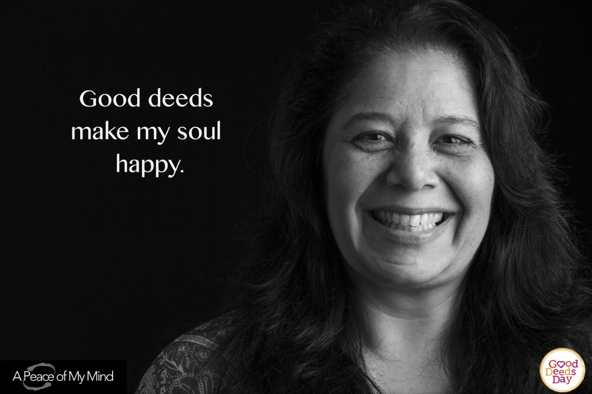Good deeds make my soul happy.