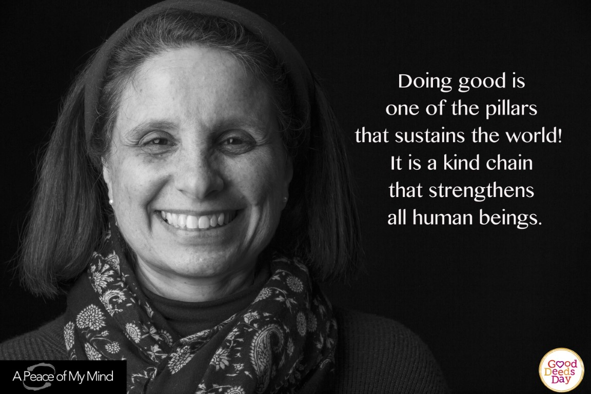 Doing good is one of the pillars that sustains the world! It is a kind chain that strengthens all human beings.