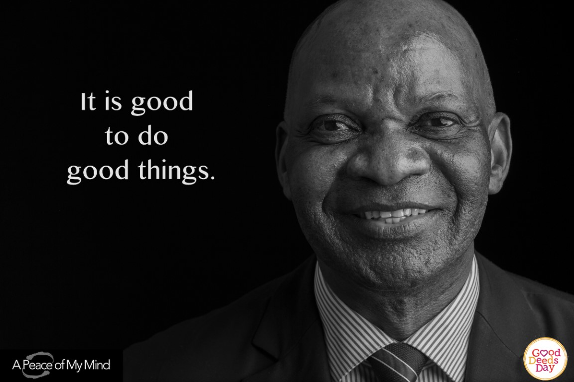 It is good to do good things.