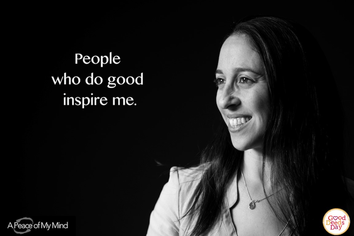 People who do good inspire me.
