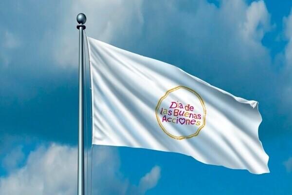 Bandera del Día de las Buenas Acciones 6