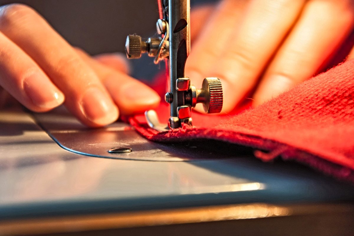 Your sewing machine is your new best friend (Shutterstock)