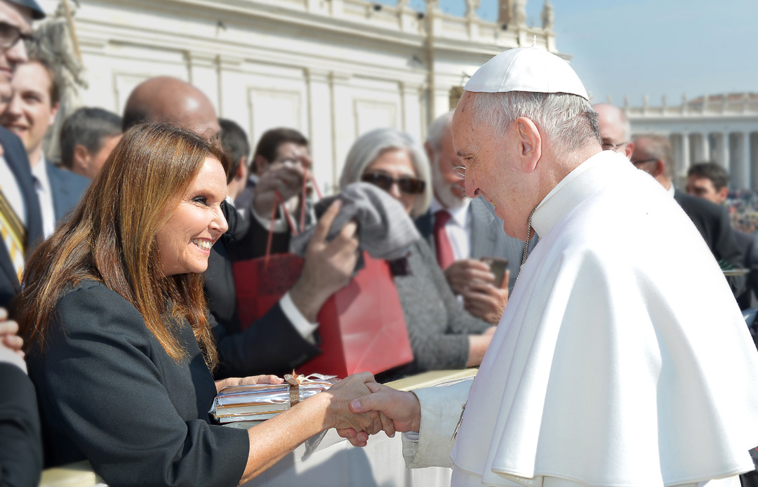 Pope Francis supports Good Deeds Day