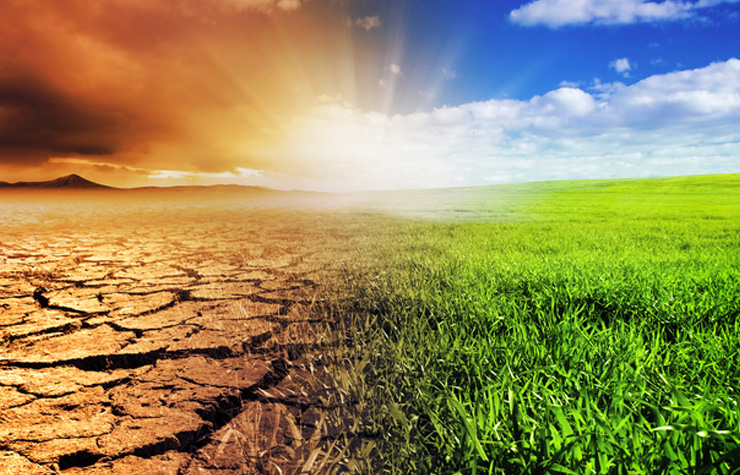 The potential effects of global warming on the environment. [Shutterstock image]