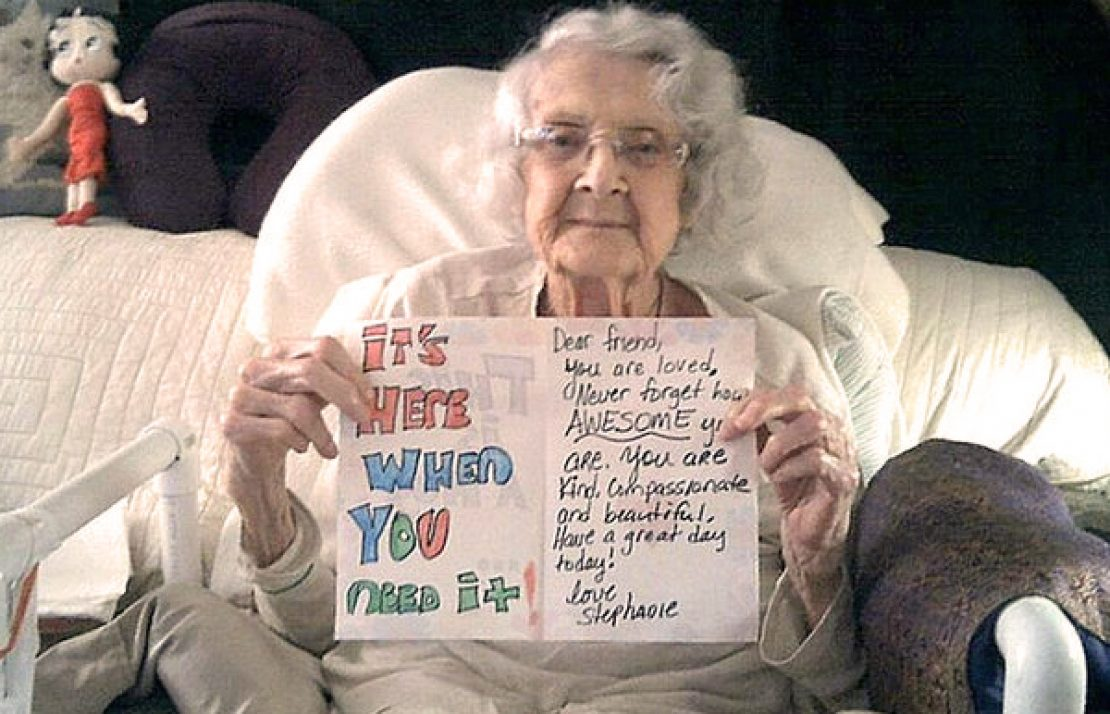 Good Old Fashioned Letters Are Putting Smiles on Seniors' Faces