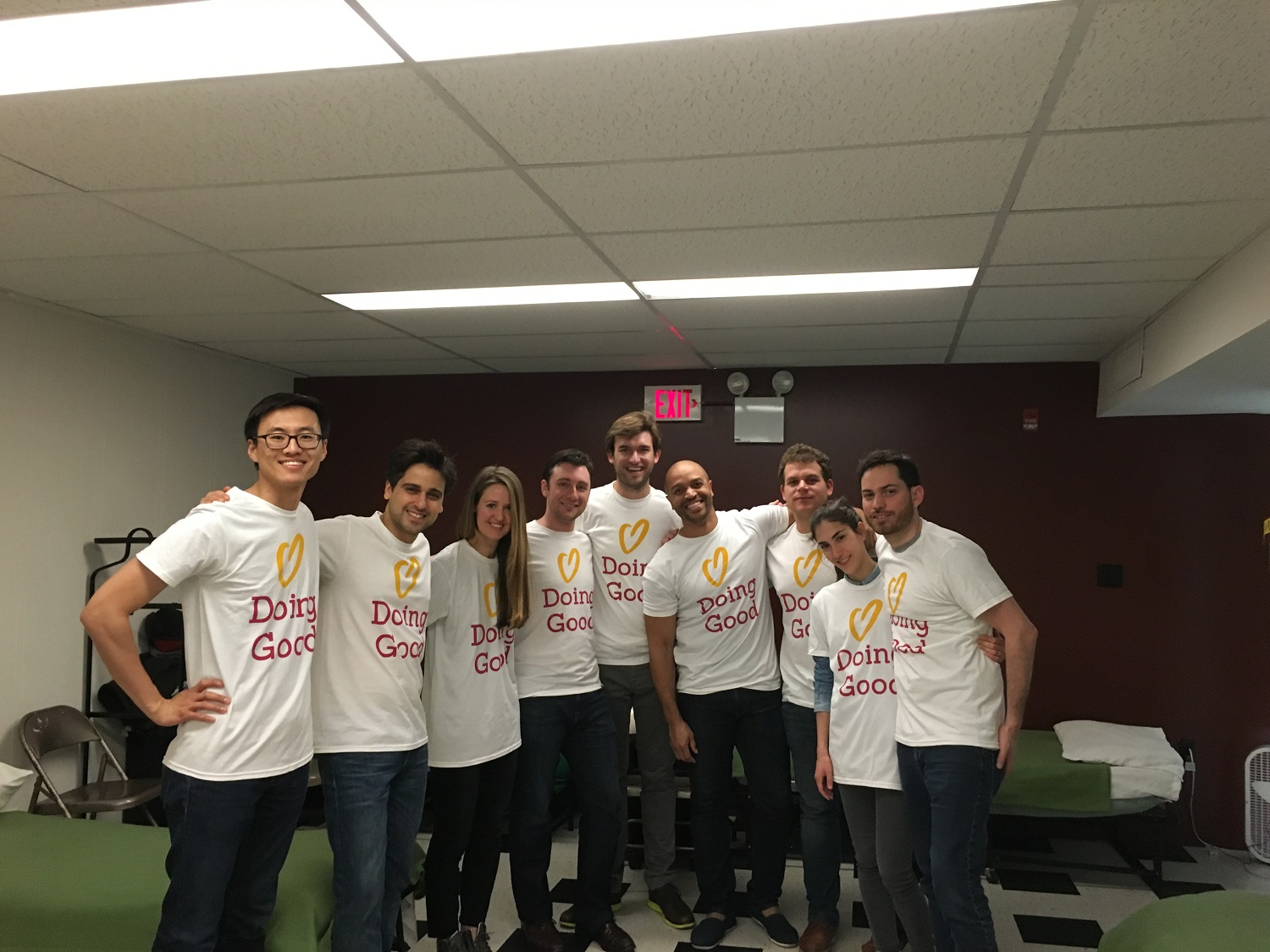 McKinsey and Company cleanup during Good Deeds Day.