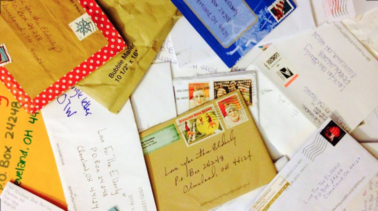 Hundreds of people sent letters to Love For The Elderly to spread some holiday cheer to lonely seniors.