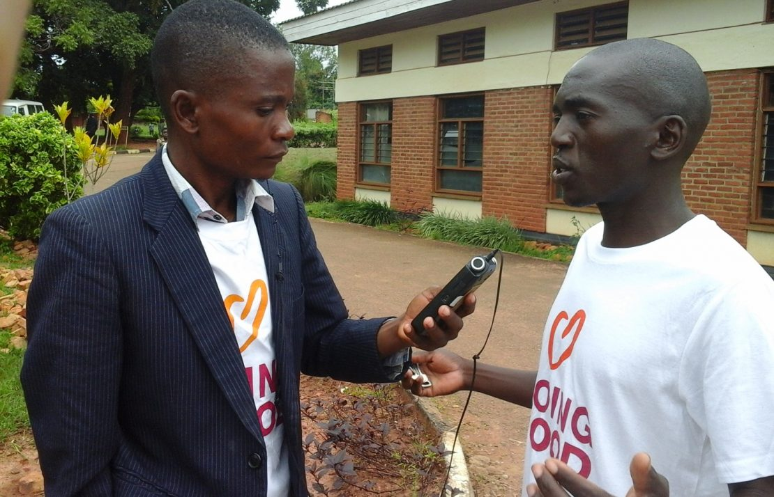 CISE Malawi volunteering in Mchinji District Hospital.