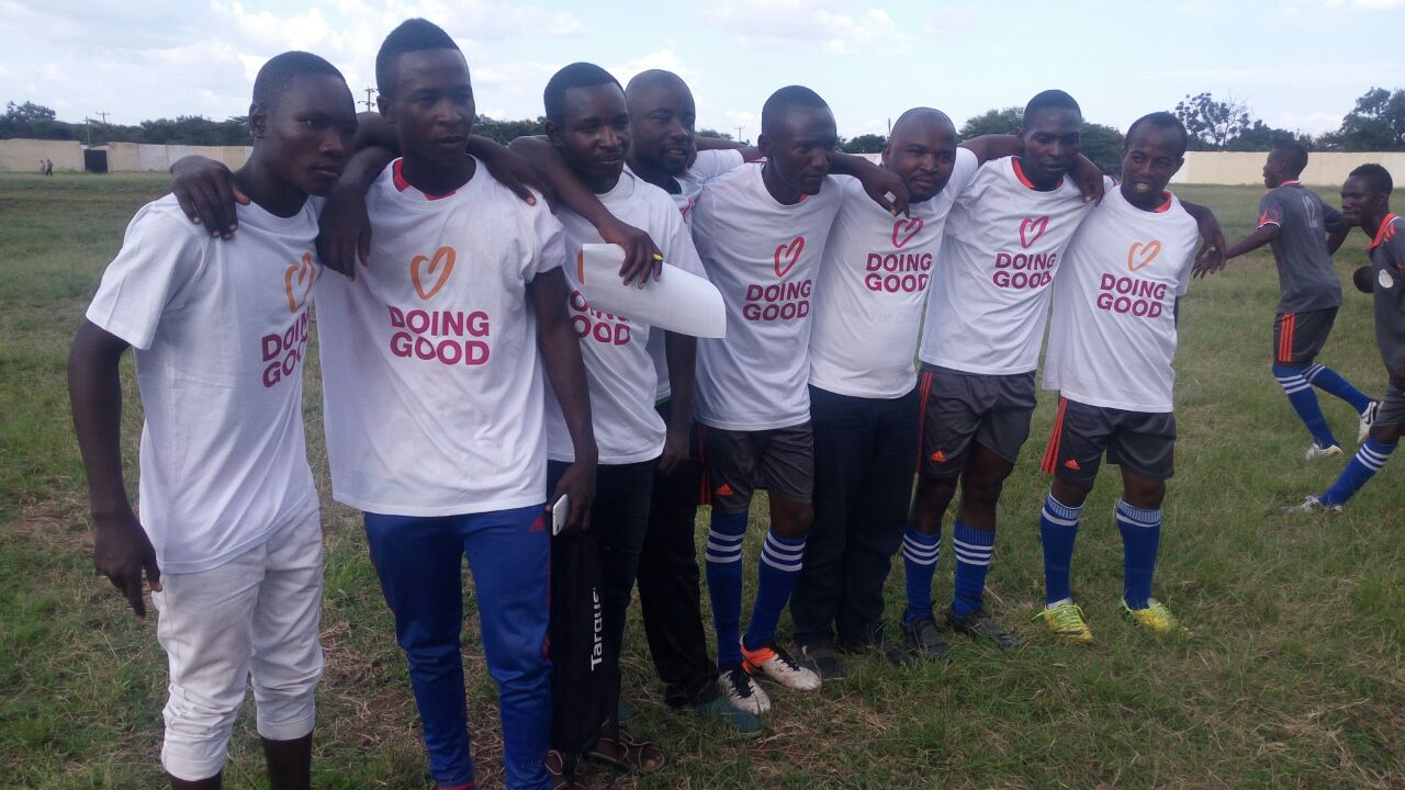 The Peace For Conservation football match of 2017.