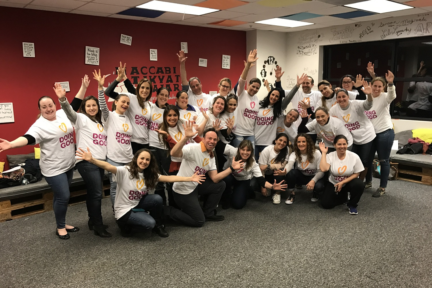 Volunteers from KEN Jewish Community in San Diego