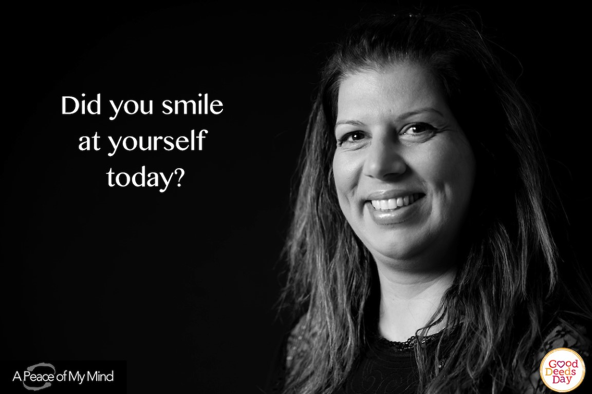 Did you smile at yourself today?