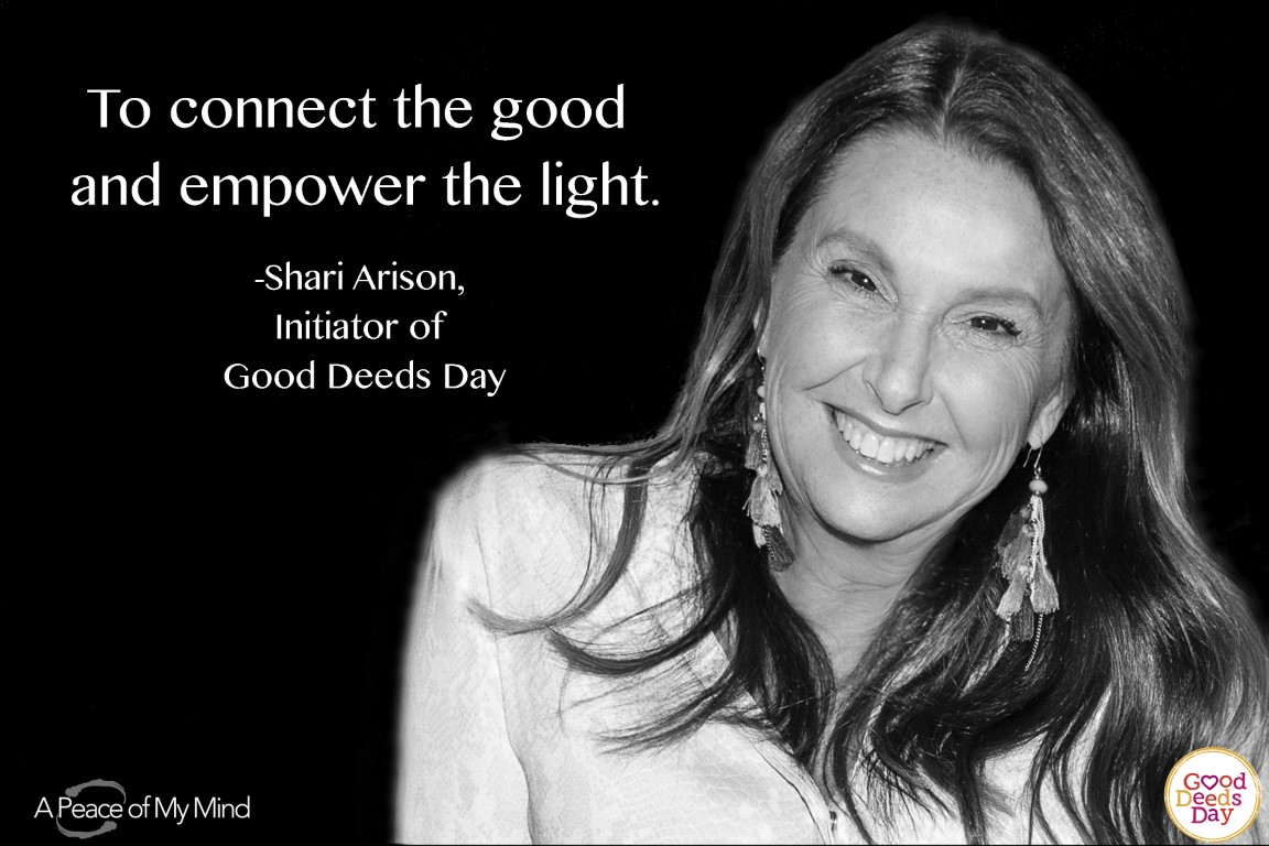 To connect the good and empower the light.